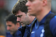 Tottenham Hotspur Manager Mauricio Pochettino arrives at the ground before the The FA Cup 4th round match between Newport County and Tottenham Hotspur at Rodney Parade, Newport, Wales on 27 January 2018. Photo by Gary Learmonth.