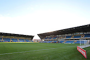 The Kassam Stadium before the The FA Cup third round match between Oxford United and Swansea City at the Kassam Stadium, Oxford, England on 10 January 2016. Photo by Jemma Phillips.