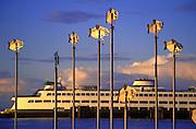 Image of Washington State Ferry on Puget Sound, Edmonds, Washington, Pacific Northwest