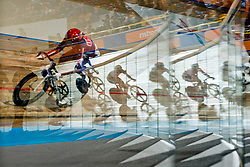 Behind the scenes, , Scratch Race, 2015 UCI Para-Cycling Track World Championships, Apeldoorn, Netherlands
