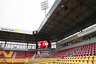FODBOLD: Stadion før kampen i ALKA Superligaen mellem FC Helsingør og AC Horsens den 18. februar 2018 på Right to Dream Park i Farum. Foto: Claus Birch.