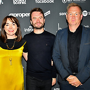 Arrivers at AIM Independent Music Awards at the Roundhouse on 3 September 2019, Camden Town, London, UK.
