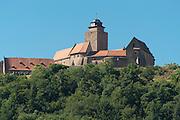 Burg Breuberg, Odenwald, Naturpark Bergstraße-Odenwald, Hessen, Deutschland   Breuberg castle, Odenwald, Hesse, Germany