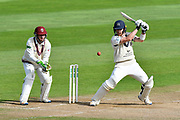 James Harris of Middlesex batting during the Specsavers County Champ Div 1 match between Somerset County Cricket Club and Middlesex County Cricket Club at the Cooper Associates County Ground, Taunton, United Kingdom on 28 September 2017. Photo by Graham Hunt.