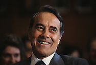 Senator Bob Dole in 1986..Photograph by Dennis Brack bb32