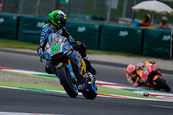 June 1, 2018 - Scarperia, Imola, Italy - 21 FRANCO MORBIDELLI from Italy, Estrella Galicia 0,0 Marc VDS, Honda, Gran Premio d'Italia Oakley, during the Friday FP2 at the Mugello International Circuit for the 6th round of MotoGP World Championship, from June 1st to 3rd - Photo by Felice Monteleone - NuPhoto  (Credit Image: © Felice Monteleone/NurPhoto via ZUMA Press)