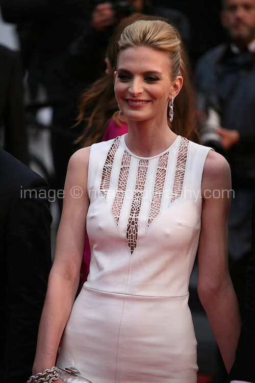 Sarah Marshall at the All Is Lost film gala screening at the Cannes Film Festival Wednesday 22nd May 2013