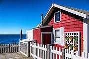 Charming waterfront cottage, Dennis, Cape Cod, Massachusetts, USA.