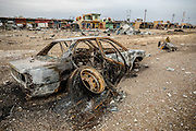 Destruction in the town of Gogjali, scene of intense fighting between ISIS fighters and the Iraqi Army. Gogjali, Iraq. Nov. 30, 2016. (Photo by Gabriel Romero ©2016)