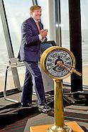 Koning Willem Alexander heropent vrijdag 3 februari het gerenoveerde Maritiem en Logistiek College D