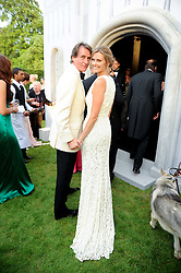 TIM & MALIN JEFFERIES at the Raisa Gorbachev Foundation Party held at Stud House, Hampton Court Palace on 5th June 2010.  The night is in aid of the Raisa Gorbachev Foundation, an international fund fighting child cancer.