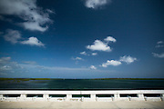 On of the bridges on the road leading from the shore to Cayo Santa Maria, Cuba on Friday July 18, 2008.