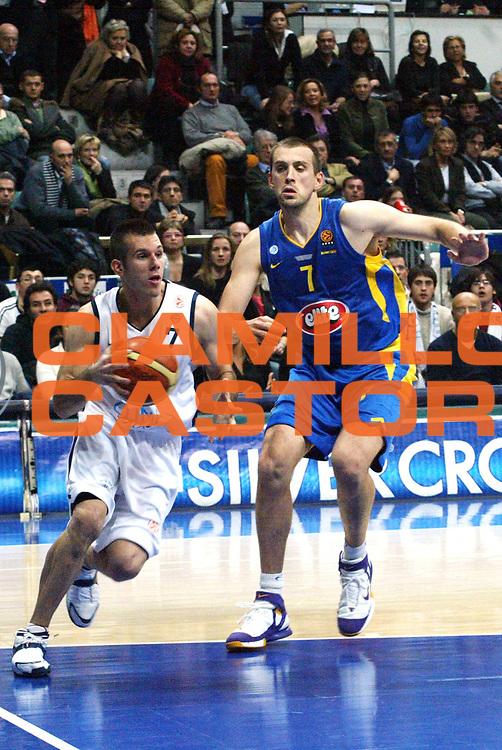 DESCRIZIONE : Bologna Eurolega 2005-2006 Climamio Fortitudo Bologna Maccabi TelAviv<br /> GIOCATORE : Becirovic<br /> SQUADRA : Fortitudo Climamio Bologna<br /> EVENTO : Bologna Eurolega 2005-06 Climamio Fortitudo Bologna Maccabi TelAviv<br /> GARA : Climamio Fortitudo Bologna Maccabi TelAviv<br /> DATA : 09/03/2006<br /> CATEGORIA : tiro<br /> SPORT : Pallacanestro <br /> AUTORE : Agenzia Ciamillo-Castoria/L.Villani