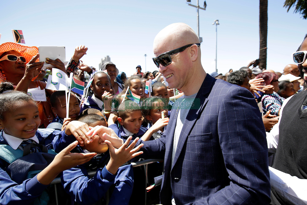 Monday 17th October 2016.<br /> Grand Parade & Greenpoint Athletics Stadium, Cape Town,<br /> Western Cape, South Africa.<br /> <br /> Cape Town Honours South African Olympic And Paralympic Heroes<br /> <br /> Paralympian Hilton Langenhoven greets fans at Grand Parade.<br /> <br /> Cape Town honours the South African Olympic and Paralympic heroes during a special celebratory event held in Cape Town, Western Cape, South Africa on Monday 17 October 2016.<br /> <br /> Picture By: Mark Wessels / Real Time Images.
