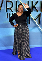 Oprah Winfrey attending the A Wrinkle in Time European Premiere held at the BFI IMAX in Waterloo, London. Photo credit should read: Doug Peters/EMPICS Entertainment