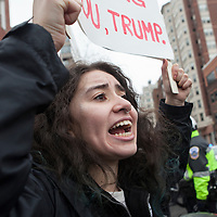 Washington DC, USA, 20 January, 2017. DisruptJ20 protests of the inauguration of Donald J. Trump as the President of the USA.