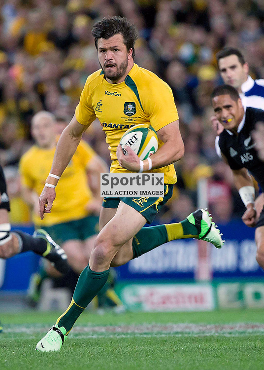 International Rugby  Australian Wallabies v New Zealand All Blacks 17 August 2013 <br /> New Zealand 47 defeated Australia 29<br /> Adam Ashley-Cooper makes a break<br /> (c) MILOS LEKOVIC | SportPix.org.uk