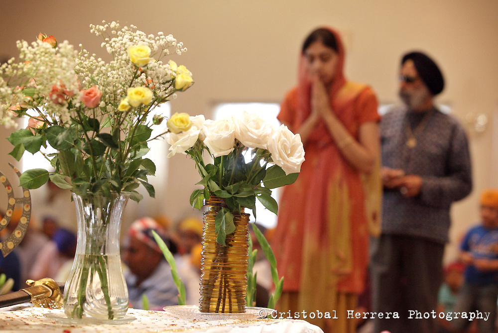 """the """"Day of Hope and Healing"""" at The Sikh Society of Florida in Southwest Ranches on Sunday August 12, 2012.  Staff photo/Cristobal Herrera"""