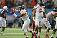 Ole Miss defensive back Tony Conner (12) vs. TCU in the Peach Bowl, in Atlanta, Ga. on Wednesday, December 31, 2014.