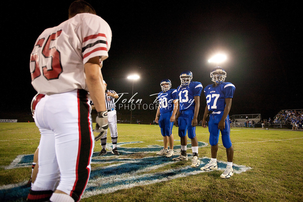 MCHS Varsity Football .vs Stonewall Jackson .Madison 48, Stonewall 7  .10/9/09