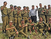 "On April 21st, Israeli president Reuven ""Ruvi"" Rivlin observed a military exercise in Northern Israel"