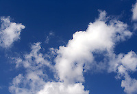 View of clouds on blue sky