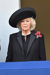 Camilla, Herzogin von Cornwall beim Remembrance Sunday in London / 131116 *** Remembrance Sunday, London, 13 Nov 2016 ***