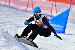 MILLER Zach, SB-LL2, USA, Snowboard Cross at the WPSB_2019 Para Snowboard World Cup, La Molina, Spain