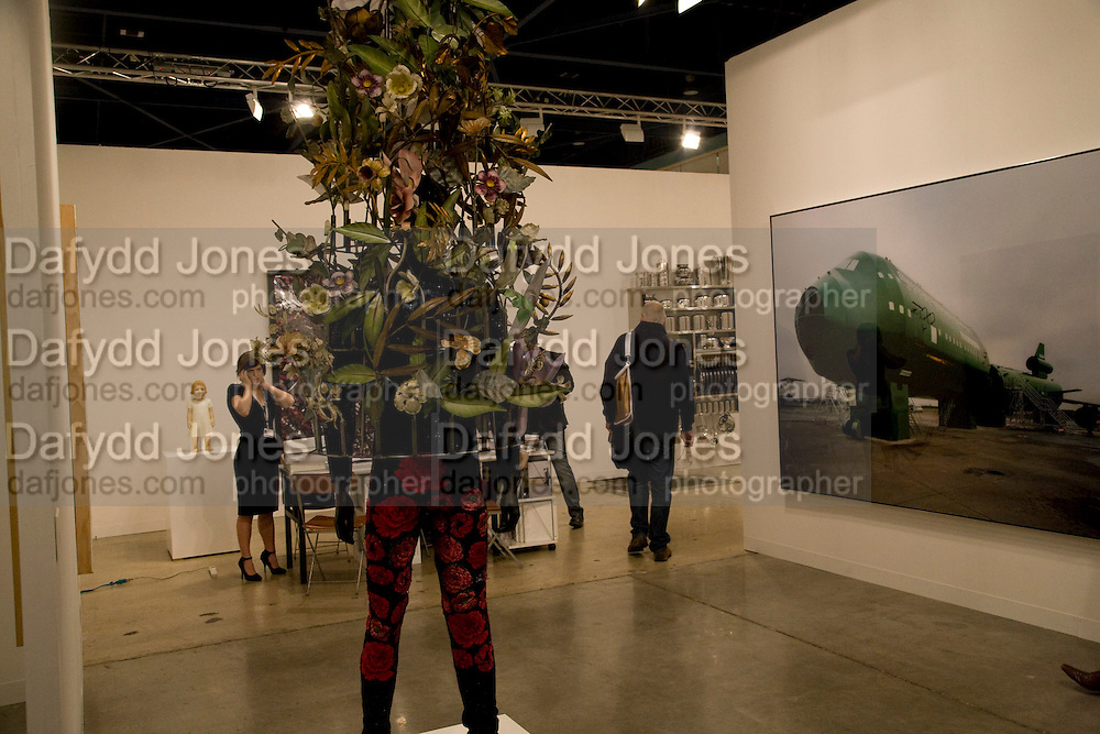 WORK BY NICK CAVE; SHAINMAN GALLERY, VIP Opening   ART BASEL MIAMI BEACH.  Convention Centre. Miami Beach. 3 December 2008 *** Local Caption *** -DO NOT ARCHIVE-© Copyright Photograph by Dafydd Jones. 248 Clapham Rd. London SW9 0PZ. Tel 0207 820 0771. www.dafjones.com.