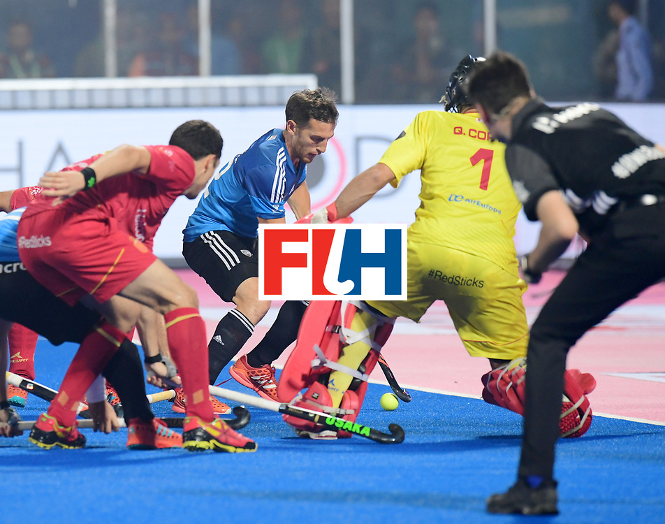 Odisha Men's Hockey World League Final Bhubaneswar 2017<br /> Match id:11<br /> Argentina v Spain<br /> Foto: <br /> COPYRIGHT WORLDSPORTPICS FRANK UIJLENBROEK