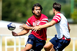 Steven Luatua in action as Bristol Bears train and prepare for the 2018/19 Gallagher Premiership Rugby Season - Mandatory by-line: Robbie Stephenson/JMP - 16/07/2018 - RUGBY - Clifton Rugby Club - Bristol, England - Bristol Bears Training