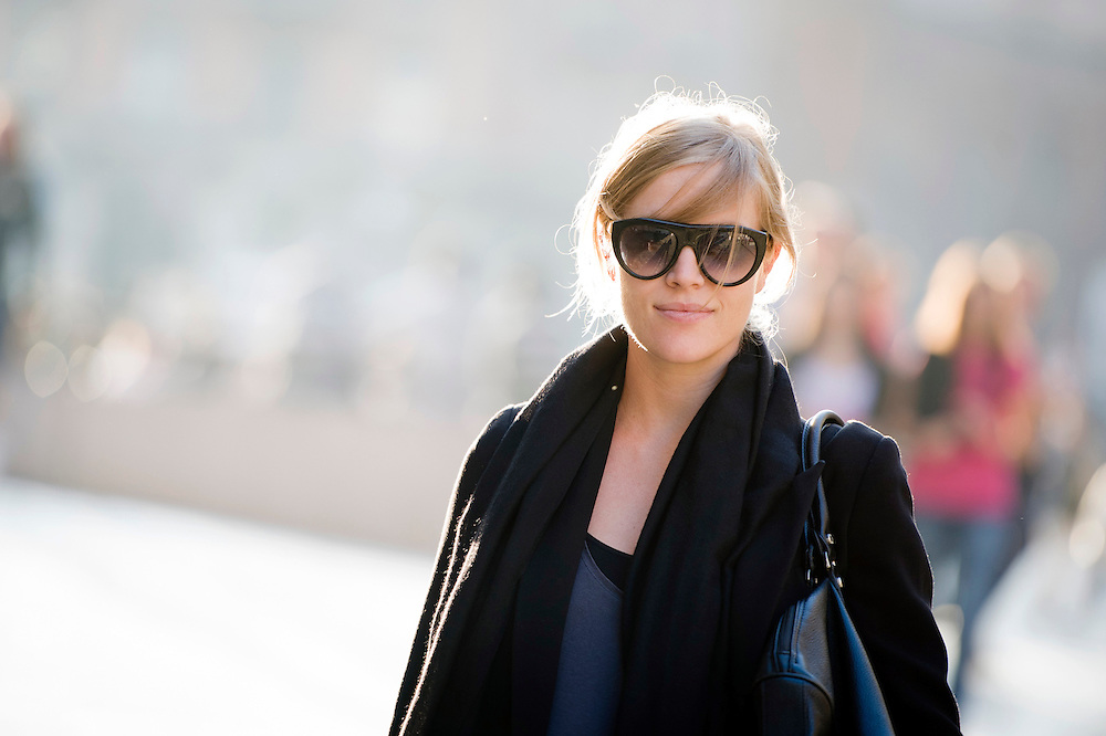 Milan, Italy 24 September 2012<br /> Marta Forghieri, fashion designer at Smarteez.<br /> Photo: Ezequiel Scagnetti &copy; European Union