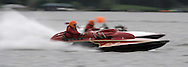 Classic hydroplane racers on Lake Sammimish. (Photo/John Froschauer)