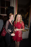 HEATHER BROOKE; SARAH CHURCHWELL; The Literary Review Bad Sex in Fiction Award 2014. The In and Out ( Naval and Military ) Club, 4 St. James's Sq. London SW1. 3 December 2014.