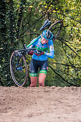MELLOR Amira (GBR) during the Women's race, UCI Cyclo-cross World Cup at Valkenbrug, The Netherlands, 23 October 2016. Photo by Pim Nijland / PelotonPhotos.com | All photos usage must carry mandatory copyright credit (Peloton Photos | Pim Nijland)