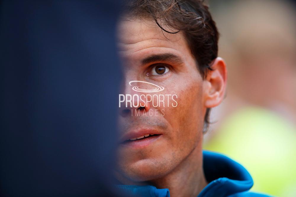 Rafael NADAL (ESP) during the Roland Garros French Tennis Open 2018, single Final Men, on June 10, 2018, at the Roland Garros Stadium in Paris, France - Photo Stephane Allaman / ProSportsImages / DPPI