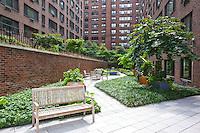 Garden at 425 East 63rd Street