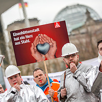 2016/04/11 Berlin | Politik | Stahl-Aktionstag der IG Metall