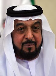 Sheikh Khalifa bin Zayed AL Nahyan , President of the UAE  Photo by: Stephen Lock/i-Images