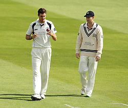 Middlesex's Steven Finn comes on to bowl - Photo mandatory by-line: Robbie Stephenson/JMP - Mobile: 07966 386802 - 03/05/2015 - SPORT - Football - London - Lords  - Middlesex CCC v Durham CCC - County Championship Division One