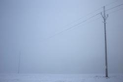 CZECH REPUBLIC VYSOCINA NEDVEZI 22DEC16 - Winter landscape with frozen fog near the village of Nedvezi, Czech Republic.<br /> <br /> jre/Photo by Jiri Rezac<br /> <br /> © Jiri Rezac 2016