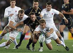 Auckland-Rugby, RWC, England v Scotland