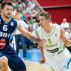 20130816: SLO, Basketball - EuroBasket 2013 warm-up match, Slovenia vs Bosnia and Herzegovina