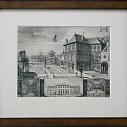 Gravure Rubenshuis Antwerpen