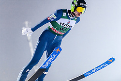 February 8, 2019 - Lahti, Finland - Anže Semenič competes during FIS Ski Jumping World Cup Large Hill Individual Qualification at Lahti Ski Games in Lahti, Finland on 8 February 2019. (Credit Image: © Antti Yrjonen/NurPhoto via ZUMA Press)