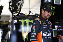 November 2, 2018 - Ft. Worth, Texas, United States of America - Kurt Busch (41) hangs out in the garage during practice for the AAA Texas 500 at Texas Motor Speedway in Ft. Worth, Texas. (Credit Image: © Justin R. Noe Asp Inc/ASP via ZUMA Wire)