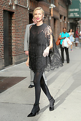 Charlize Theron seen arrives at The Late Show with Stephen Colbert in New York City. 03 May 2018 Pictured: Charlize Theron. Photo credit: MEGA TheMegaAgency.com +1 888 505 6342