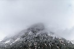 THEMENBILD - ein schneebedeckter Berghang, aufgenommen am 17. Oktober 2015, Ferleiten, Österreich // a snow covered mountainside, Ferleiten, Austria on 2015/10/17. EXPA Pictures © 2015, PhotoCredit: EXPA/ JFK
