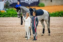 Heppler Lukas, SUI, Acardi van de Kapel, Lunger Winkler-Bischofberger Monika<br /> World Equestrian Games - Tryon 2018<br /> © Hippo Foto - Stefan Lafrenz<br /> 18/09/18