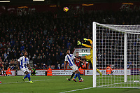 Football - 2018 / 2019 Premier League - AFC Bournemouth vs. Brighton & Hove Albion<br /> <br /> Bournemouth's David Brooks looks on as his looping header evades the outstretched arm of Mathew Ryan of Brighton at the Vitality Stadium (Dean Court) Bournemouth <br /> <br /> COLORSPORT/SHAUN BOGGUST